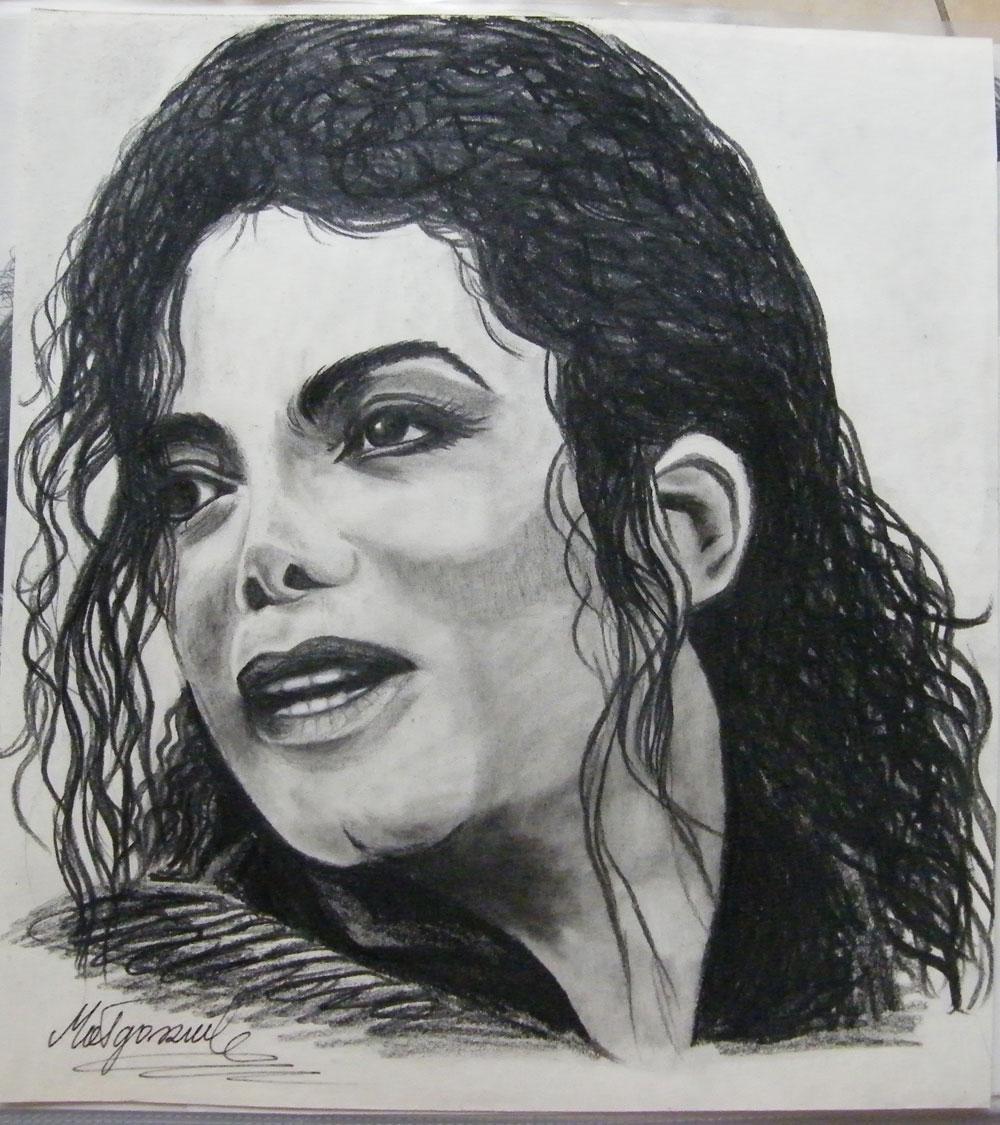 portret michaela jacksona