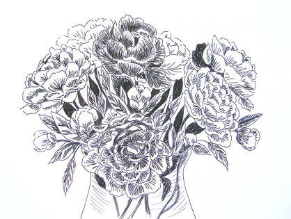 Kwiaty - rysunki kwiatów