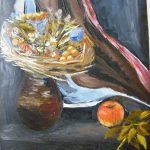obraz olejny martwa natura Małgorzata Jaskłowska