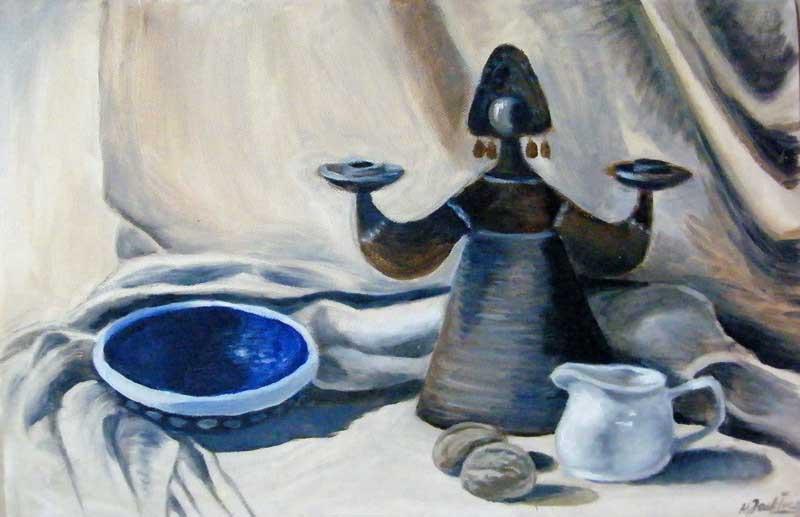 Małgorzata Jaskłowska obraz olejny