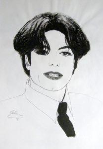 Michael Jacskon portret