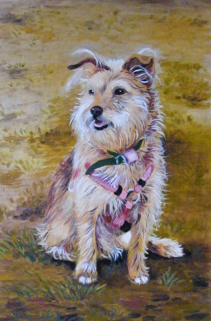 obraz olejny - portret Sabinki