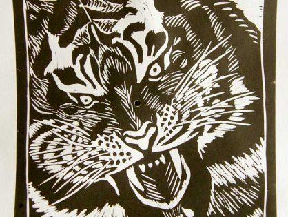 Motywy afrykańskie - lwy i tygrysy