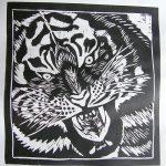 linoryt tygrys - malgorzata Jaskłowska
