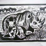 linoryt nosorożec - malgorzata halina jaskłowska