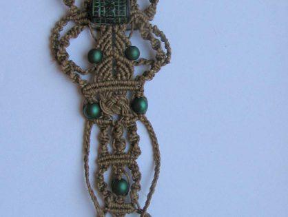 makrama biżuteria - malgorzta jasklowska