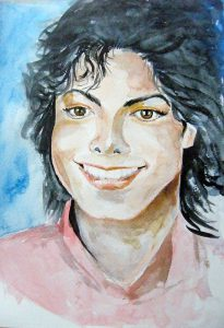 portret akwarela