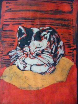 malarstwo, batik, akwarela