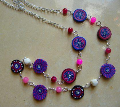 biżuteria ręcznie robiona, biżuteria z polymer clay