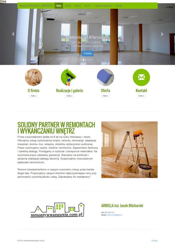 strona www html