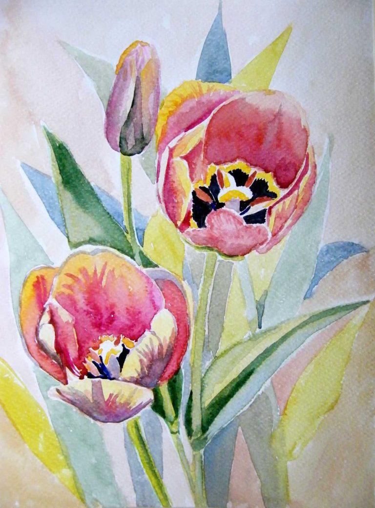 Maluję kwiaty i pluszaki