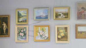 obrazy olejne - wernisaż wystawy