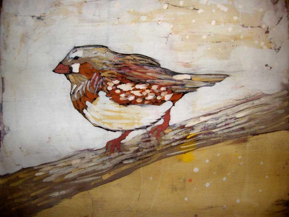 batik ptak - małgorzata jaskłowska