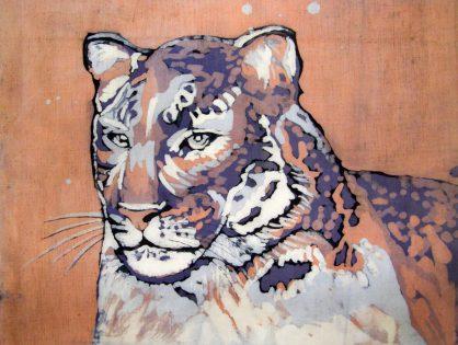 batik tygrys - malgorzata jaskłowska