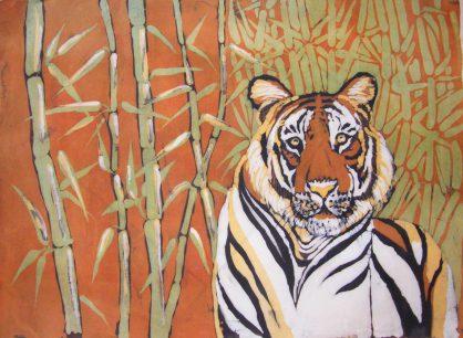 batik tygrys