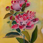 malowanie na jedwabiu - małgorzata jaskłowska