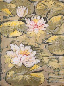 batik lilie wodne