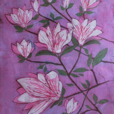 Batiki kwiatowe