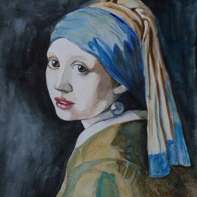 Dziewczyna z perłą Vermeer