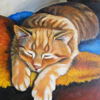 Ostatnio maluję olejem