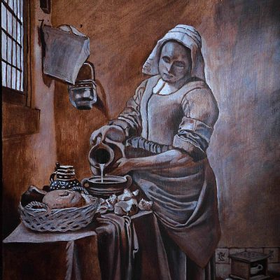 Kopie dawnych mistrzów – technik en grisaille